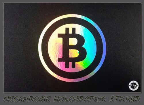 bitcoin hologram stickers)