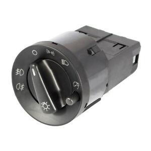 Interruptor-de-luz-Principal-Cromo-Apto-Para-Vw-Skoda-Seat-Audi-A3-SL1