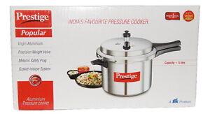 dd082824d Prestige popular Aluminium pressure cooker 5 litre 8901365100133 ...