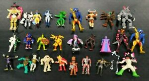 MIGHTY-MORPHIN-POWER-RANGERS-VINTAGE-SPACE-ALIEN-LOT-OF-27