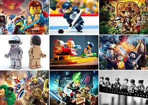 Lego Heroes Star Wars Herr Der Ringe Daft Punk Poster Drucken Kaufen