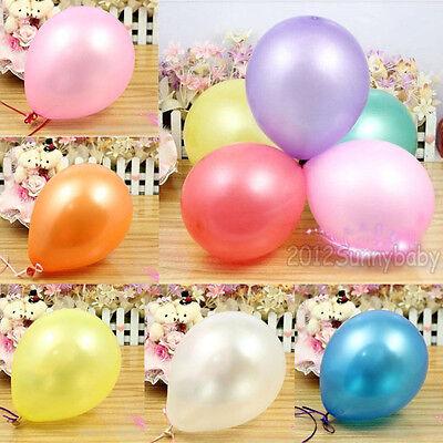 20/50/100Pcs Birthday Wedding Party Decor Ornaments Round Latex Balloons New