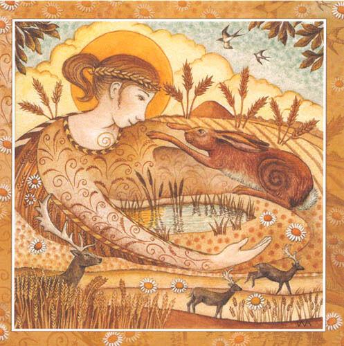 SAMHAIN LAMMAS IMBOLC BELTANE Goddess GREETING CARDS PAGAN Celebration WICCAN