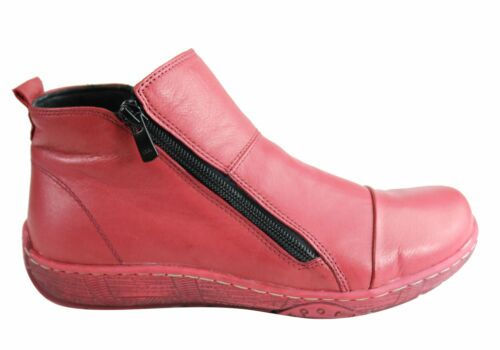 Orizonte Shani Womens European Comfortable Soft Leather Ankle Boots SSA