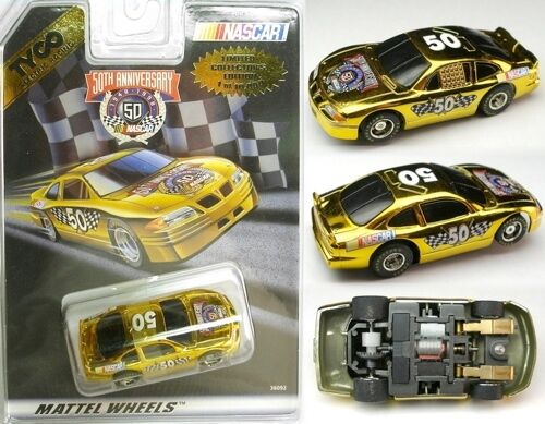 1998 TYCO 440-X2 Nascar 50th Anv. Lmtd. Ed. Slot Car 36092