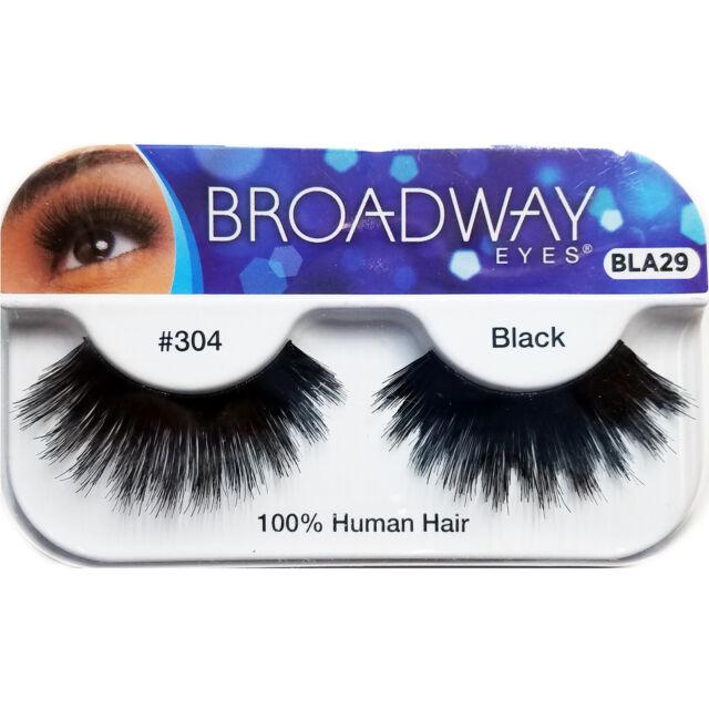 Kiss Broadway Eyelashes Bla29 304 100 Human Hair Ebay