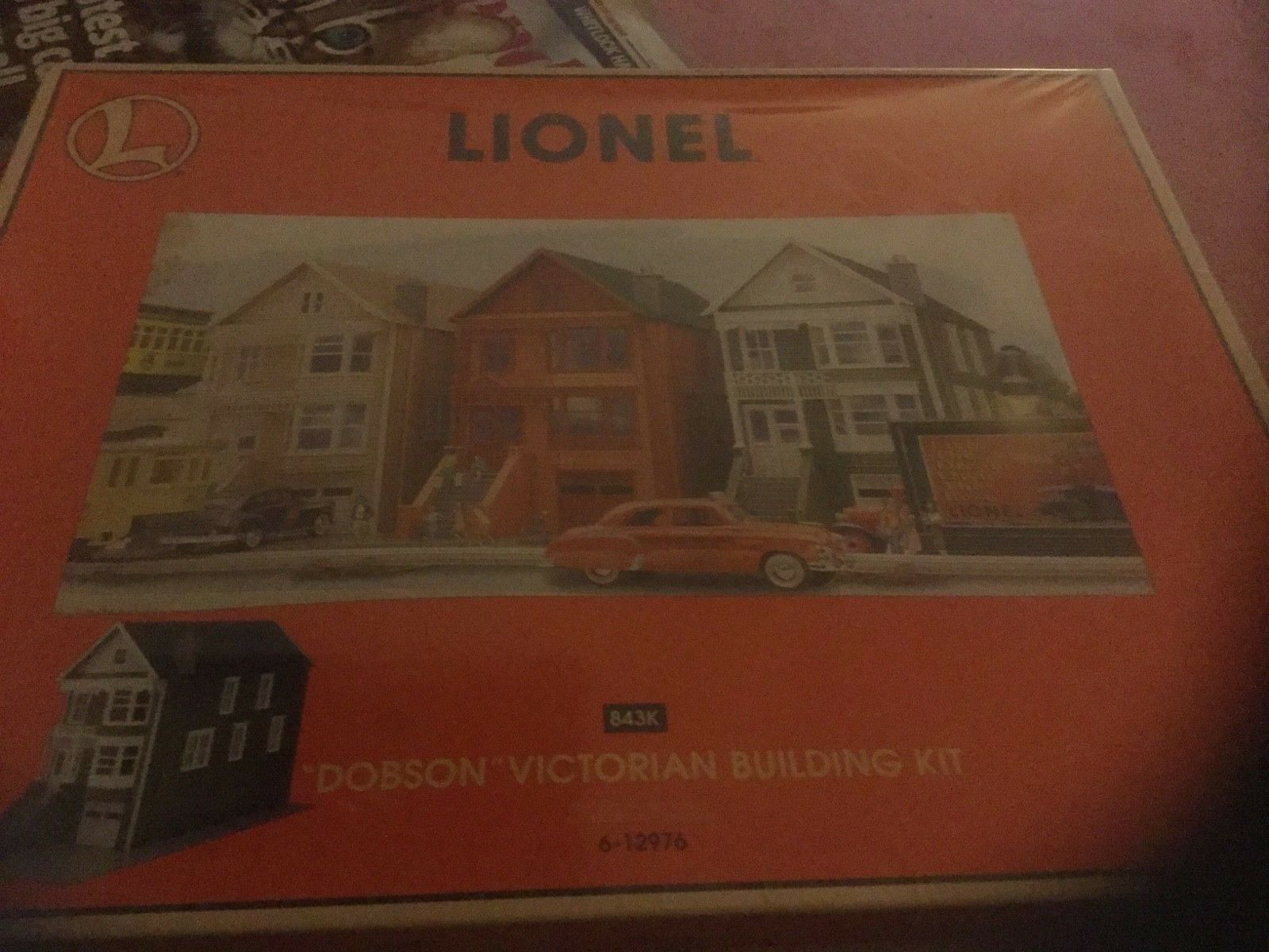 LIONEL 6-12976  DOBSON  VICTORIAN HOUSE BUILDING KIT NIB SEALED