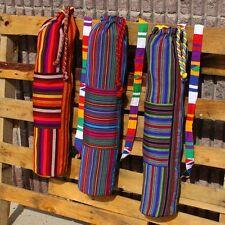 TX800,11 Exquisite Maya Huipil Yoga Bag w/ Mat Blanket Ethnic Assorted Pack Set