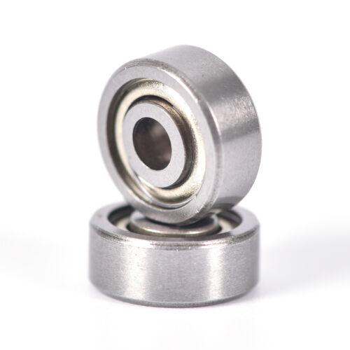 10 PCS F623ZZ flange bushMiniature deep groove ball bearing3*10*4mm Pip TOCA