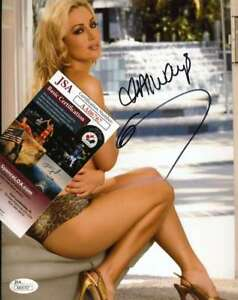 KAYDEN-KROSS-JSA-Coa-Hand-Signed-8x10-AVN-Photo-Autograph-Authentic