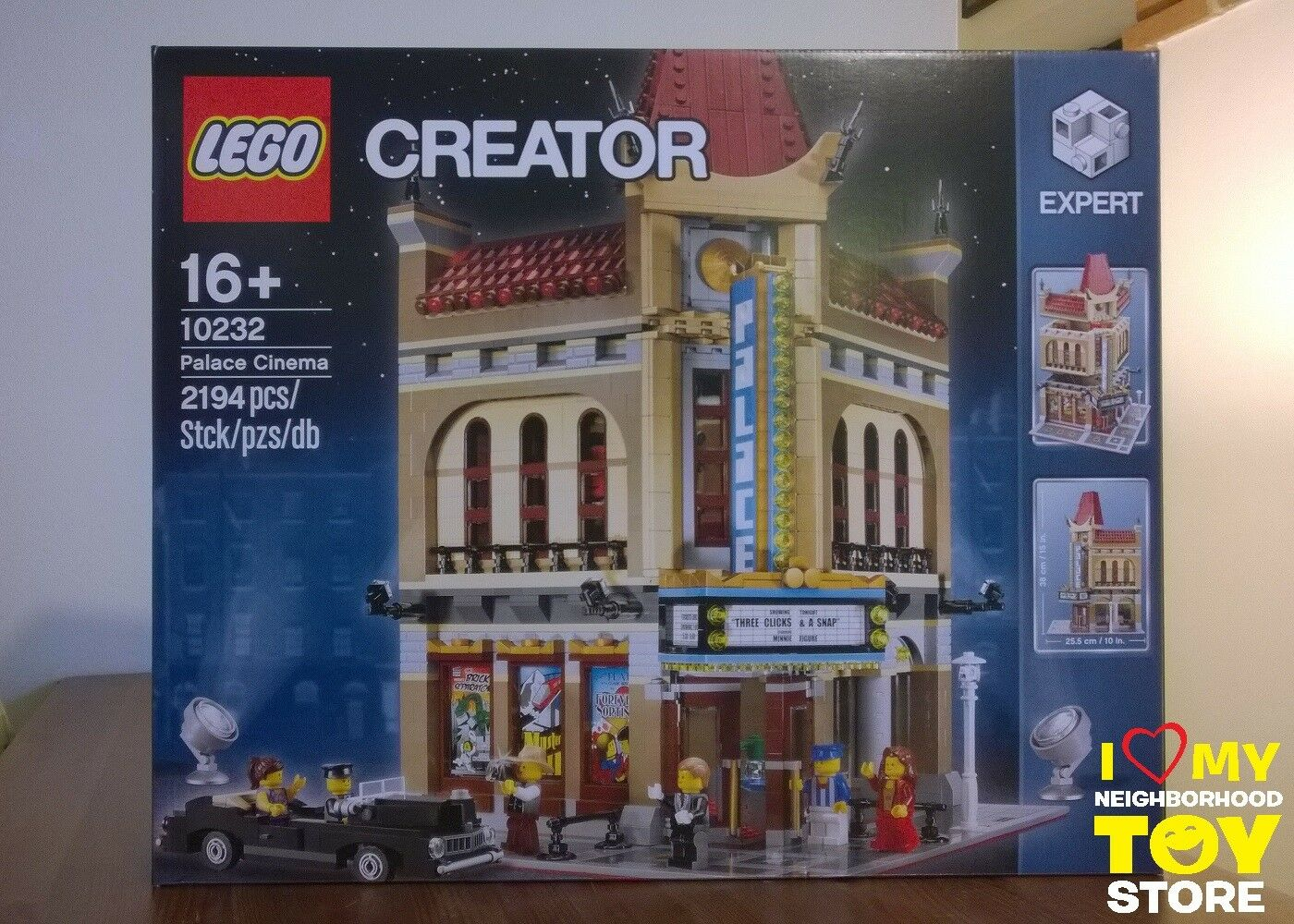 RETIrouge - LEGO 10232 CREATOR EXPERT PALACE CINEMA (2013) - MISB