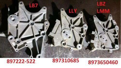 2004.5-2006 Chevy GMC 6.6 LLY Duramax Alternator Bracket 897310685 97310685