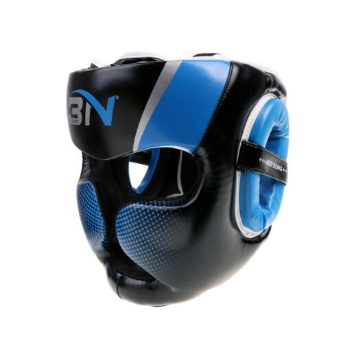 Men Women Headgear Head Guard Helmet MMA Sparring Face Protector