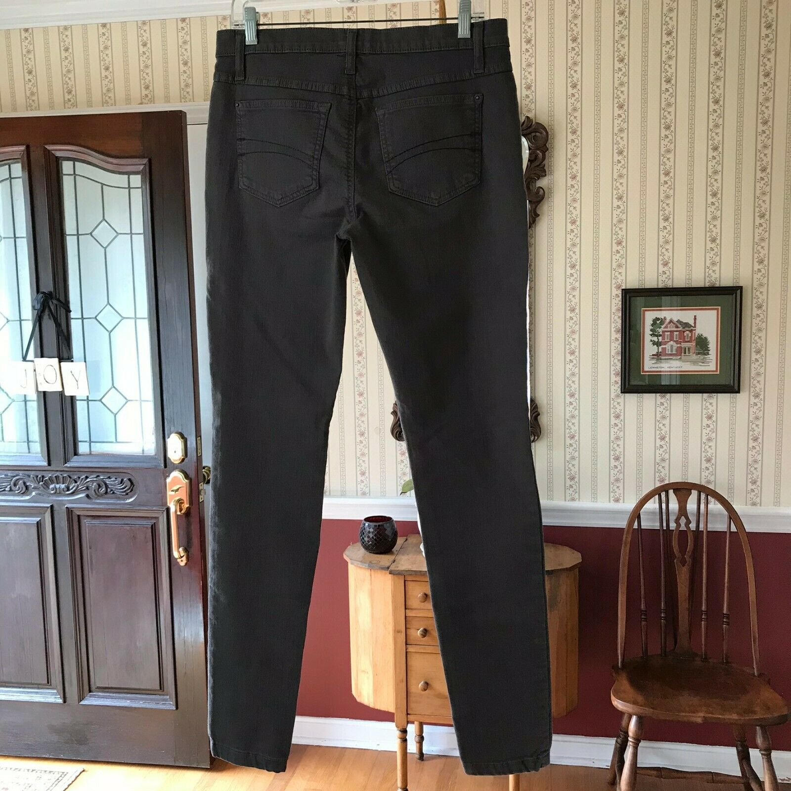 Second Yoga Jeans Brown Skinny Stretch Pants Size 30
