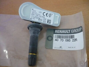 genuine renault clio iv captur kangoo dacia tyre valve pressure sensor ebay. Black Bedroom Furniture Sets. Home Design Ideas