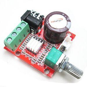 Mini-PAM8610-2-10W-Digital-HiFi-Amplifier-Board-Two-Channel-D-Class