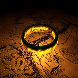 Fashion-Men-039-s-Lord-of-the-Rings-The-One-Ring-Lotr-Stainless-Steel-Ring-Size-6-12