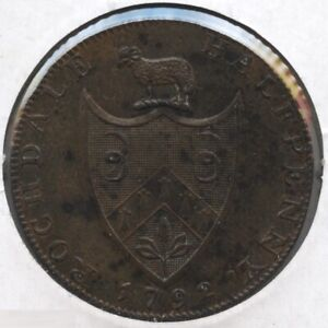 Rochdale-1792-Coin-Halfpenny-1-2-Penny-BC793