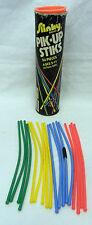80's Slinky Brand Brightly Colored Pik Up Pick Up Stiks Sticks Toy Game Vintage