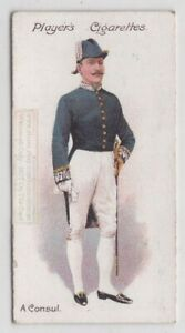 British-Consul-Dress-Uniform-England-Royalty-100-Y-O-Trade-Ad-Card