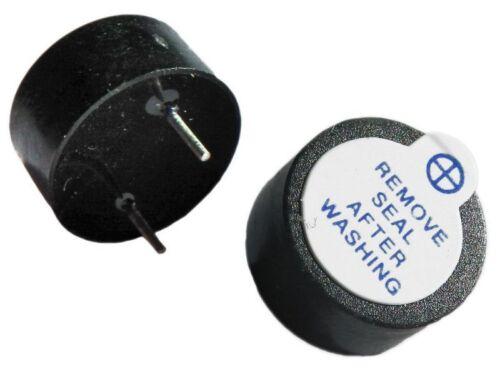 2x Active buzzer électromagnétique 1.5 V 15 V Arduino alarme Pic UK Robot UK A306
