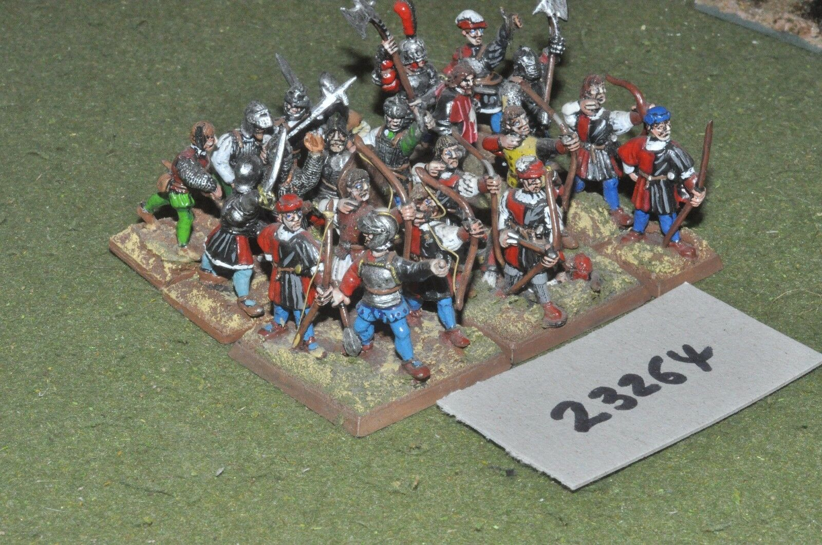 25mm renaissance   english - battle group 21 figures - inf (23264)