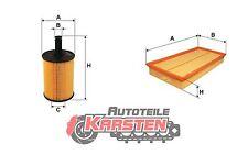 Set S: Luftfilter+Ölfilter Inspektionssatz AUDI SEAT VW