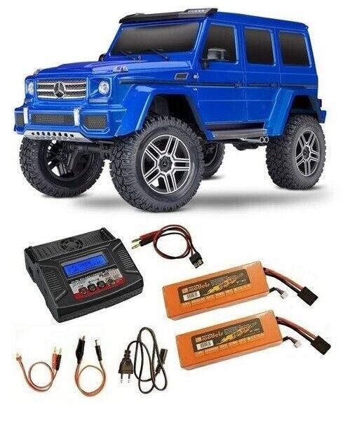 Traxxas trx-4 Mercedes G 4x4 azul 4wd scale-Crawler 2.4ghz rtr 1 10 - repostería 2 -