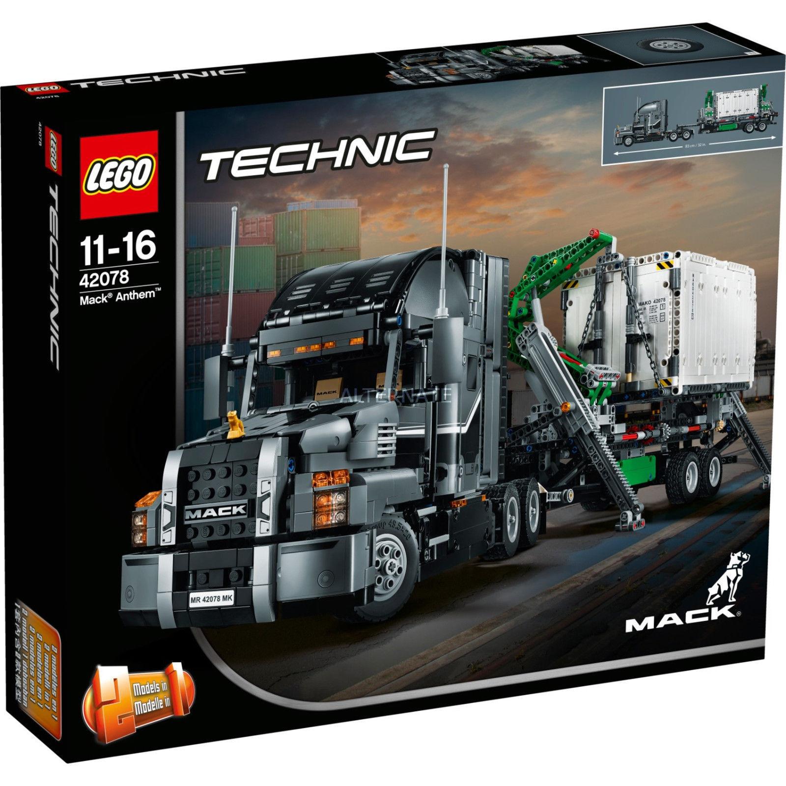 Lego Technic 42078 - Camion Mack Inno NUOVO