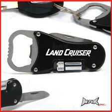 TOYOTA LAND CRUISER - Lasered Logo Keyring / Knife / LED Torch / Bottle Opener