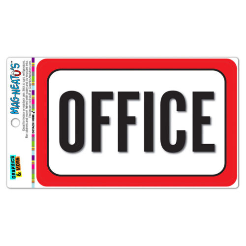 Office MAG-NEATO/'S™ Vinyl Magnet Sign