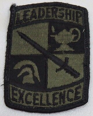 US Army Leadership Excellence Military Patch USAR Reserve Officer Training
