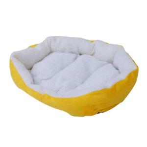 Impermeable-Super-chaud-doux-Toison-pour-chiot-chien-chat-Lit-Maison-panier-R3J9