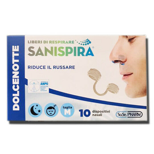 Sanispira Dolce notte 10 Pezzi Taglia M