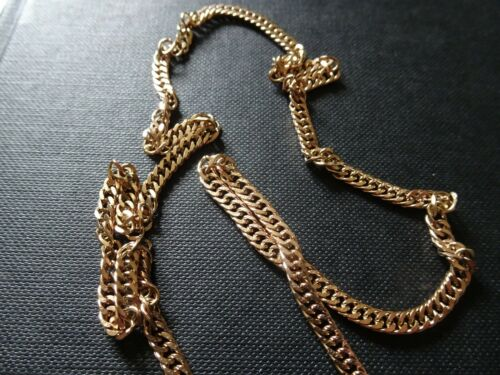 Details about  /BRAND NEW Antique 18ct Rose Gold on Sterling Silver Slim Flat Necklace Chain