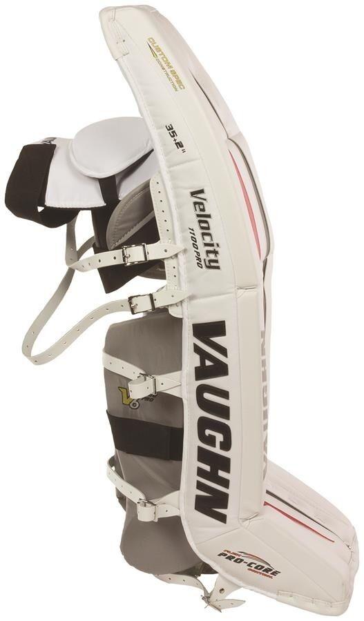 22077e0ef11 Vaughn Velocity V6 1100 Pro Goalie Leg Pads 36 2 for sale online
