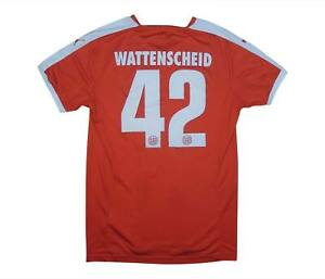 Wattenscheid 2015-16 Authentic Away Camicia #42 (eccellente) M SOCCER JERSEY
