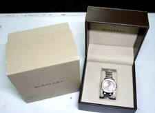 b85d0f709104 Burberry The Britain Prorsum Silver Champagne Bby1803 Diamond Ladies Swis  Watch