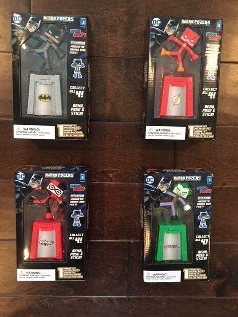 Wrfel - posers serie 3 kawaii - set batman, der blitz, harley quinn, joker