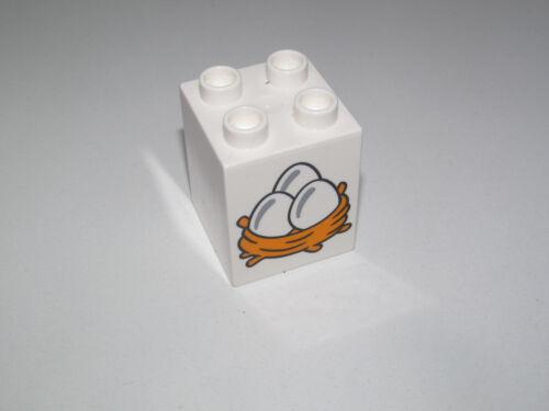 Lego Duplo ® Brique Dessin Décoration Fruits Légumes Brick Choose Pattern 31110