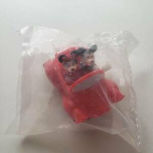1991-Vintage-Burger-King-Mickey-amp-Minnie-Wind-Up-Car-Meal-Toy-Sealed-Rare
