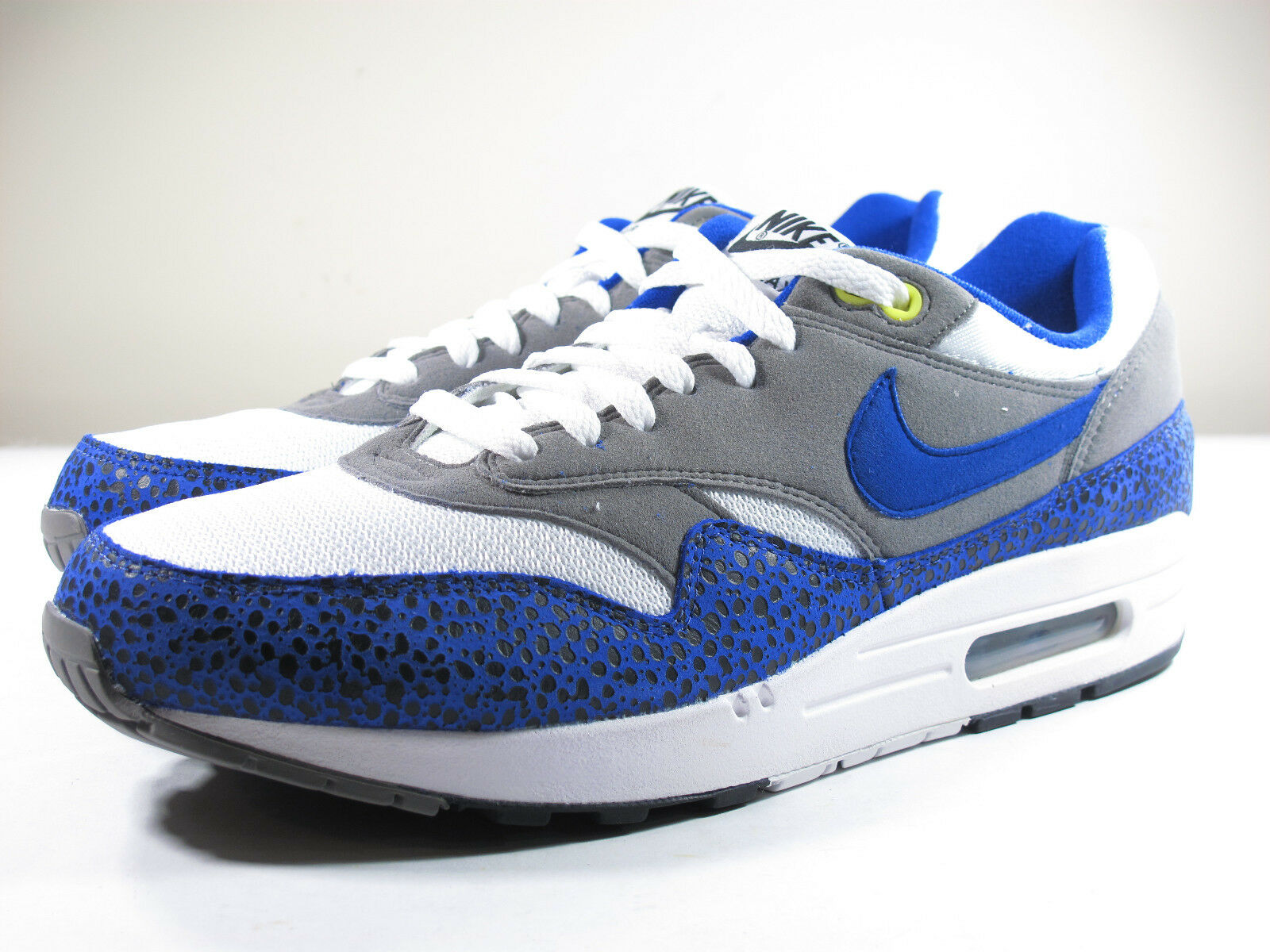 DS NIKE 2009 AIR MAX 1 SAFARI HYPER BLUE 7.5 ATMOS PATTA 180 90 SUPREME 93 CAMO