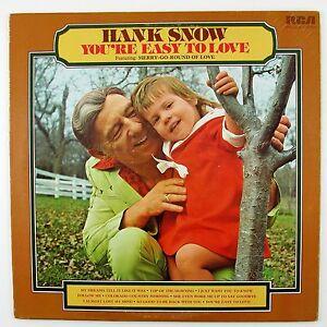 HANK-SNOW-You-039-re-Easy-To-Love-PROMO-COPY-LP-NM-NM