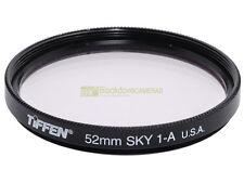 52mm. filtro Skylight 1A, Tiffen. Sky light filter.