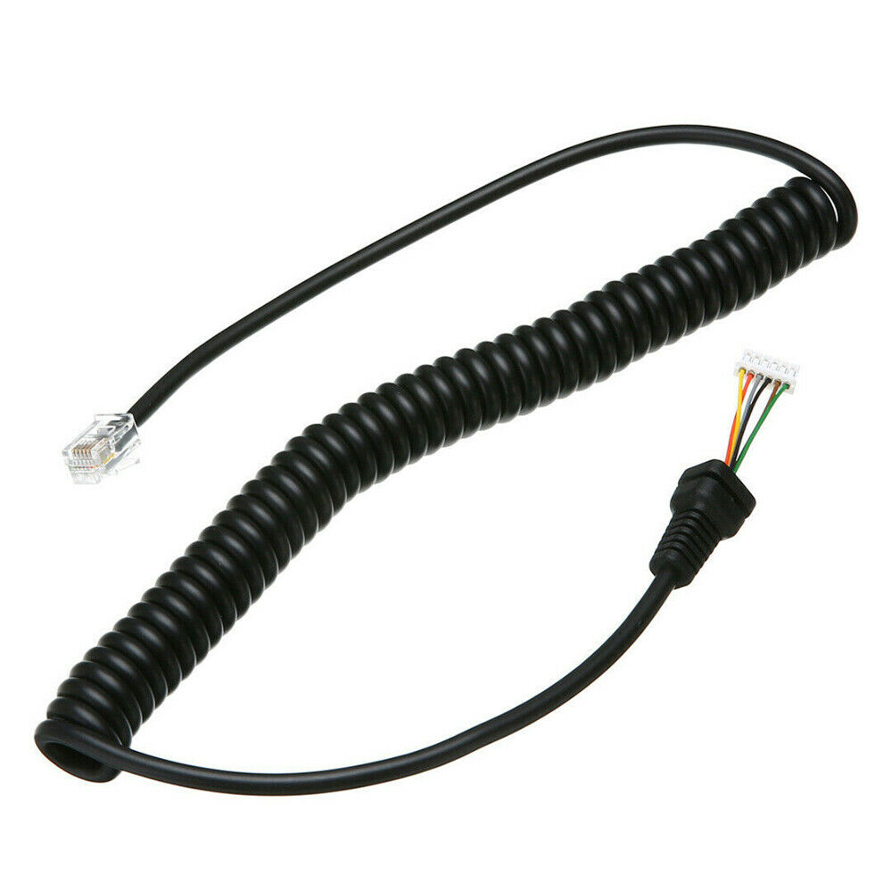 Niceshop 6 Pin Mh-48a6j DTMF Handheld Microphone Speaker with Button for Yaesu Car Mobile Radio FT-1500 FT-1802 FT-1900 FT-2600 FT-2800 FT-2900 FT-3000 FT-7100 FT-7800 FT-8100 FT-8500 FT-8800R etc.
