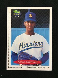 Details About Pedro Martinez Rookie Minor League 1991 Classic San Antonio Rc Baseball Card