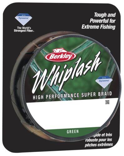 110m /& 300m Spule BERKLEY WHIPLASH GREEN alle Stärken 0.06-0.28mm