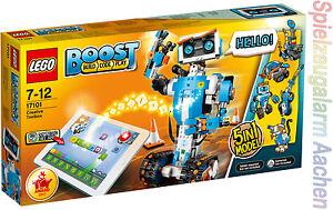 LEGO BOOST 17101 mit GRATIS 6x AAA Duracell Roboter Programmierbar<wbr/>es Roboticset
