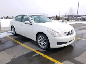2009 Infiniti G37X- AWD, One Owner, Fully Loaded