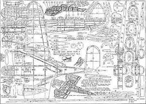 Astral Bristol Blenheim Mk4 H.j. Towner Model Plans-afficher Le Titre D'origine Prix De Vente Directe D'Usine
